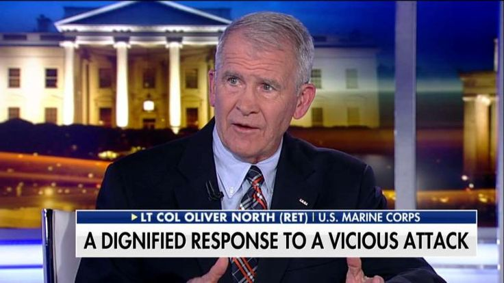 """Marine Lt. Col. Oliver North [Ret.] said it was """"unconscionable"""" that Rep. Frederica Wilson (D-Fla.) """"injected herself"""" into the phone call between President Trump and the family of a fallen Green Beret."""