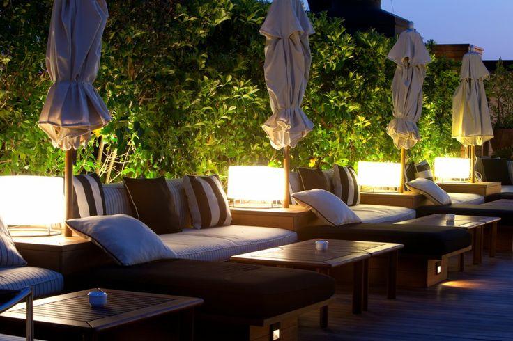 La Isabela. Bar-restaurant on the terrace at Hotel 1898 on Las Ramblas