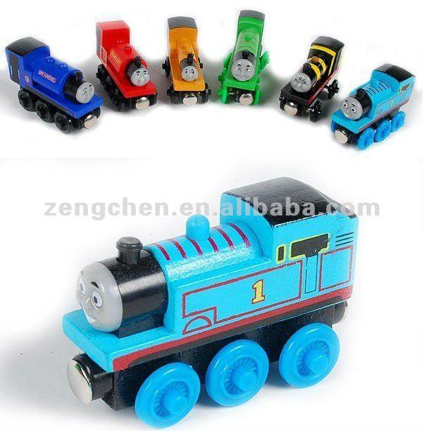 Wooden Thomas toy train for kids,Thomas Toy $0.5~$0.9
