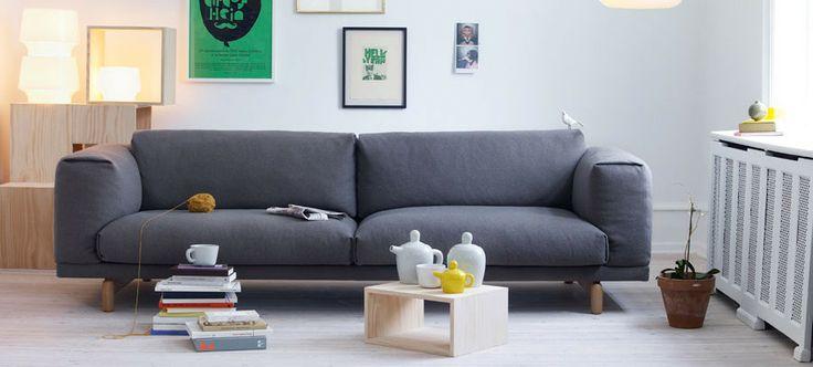 Menegatti Lab #Muuto #Rest Sofa