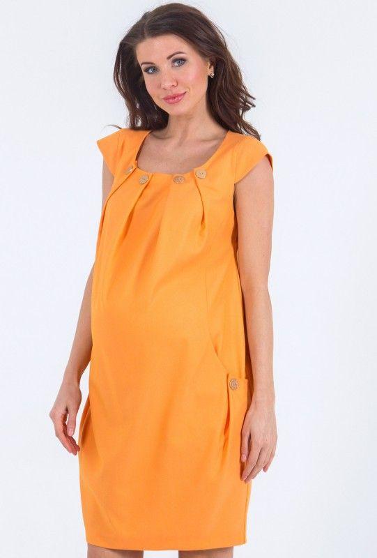 Платье, 463.5025.22.03, оранжевое