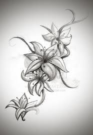 tattoo lily - I want this on my lower back to cover up what I got!!