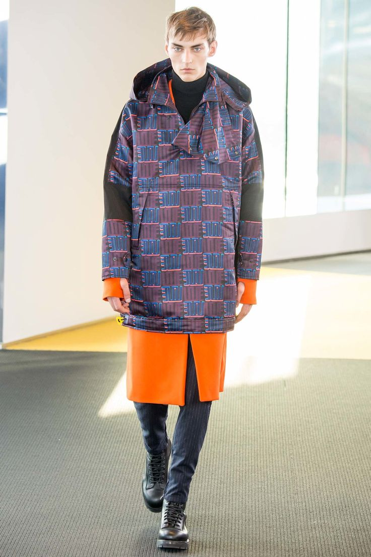 Kenzo Fall 2015 Menswear Fashion Show