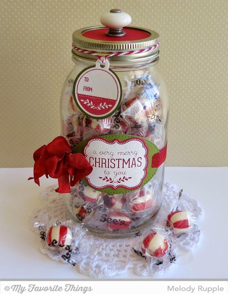idea for decorated jar ♥