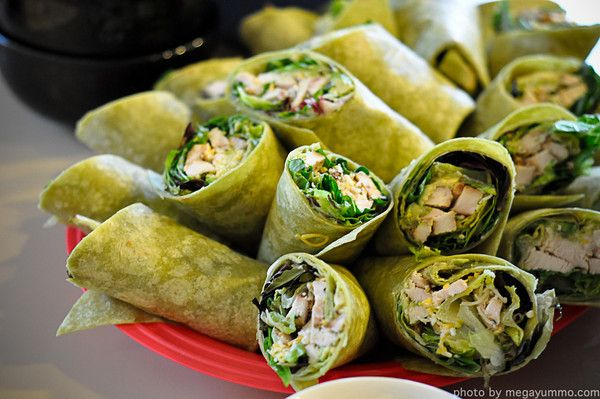 Grilled Chicken Avocado Spicy Ranch Wraps!
