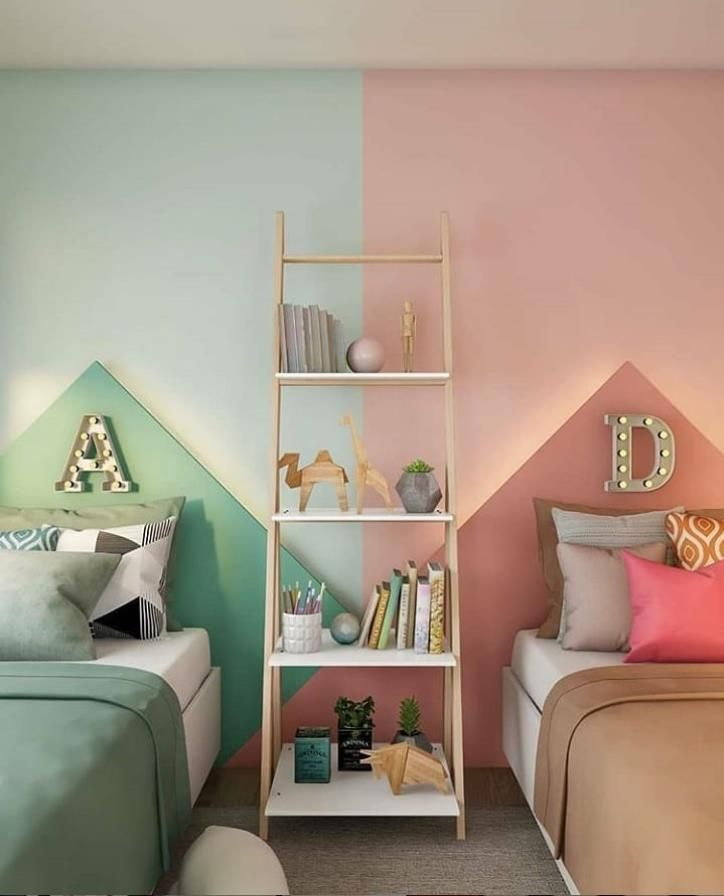 Wow These Beautiful Children S Rooms Are Designed So That People Don T Want To Grow Up Lily Fashion Style Shared Girls Room Boy And Girl Shared Room Shared Girls Bedroom International ideas for kids rooms