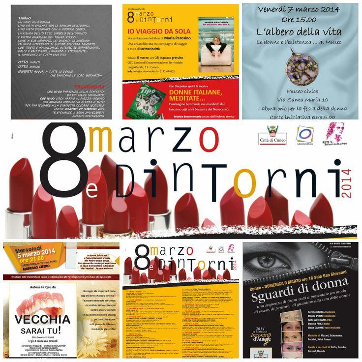 """alcune iniziative  di """"8 marzo e dintorni"""" 2014"""