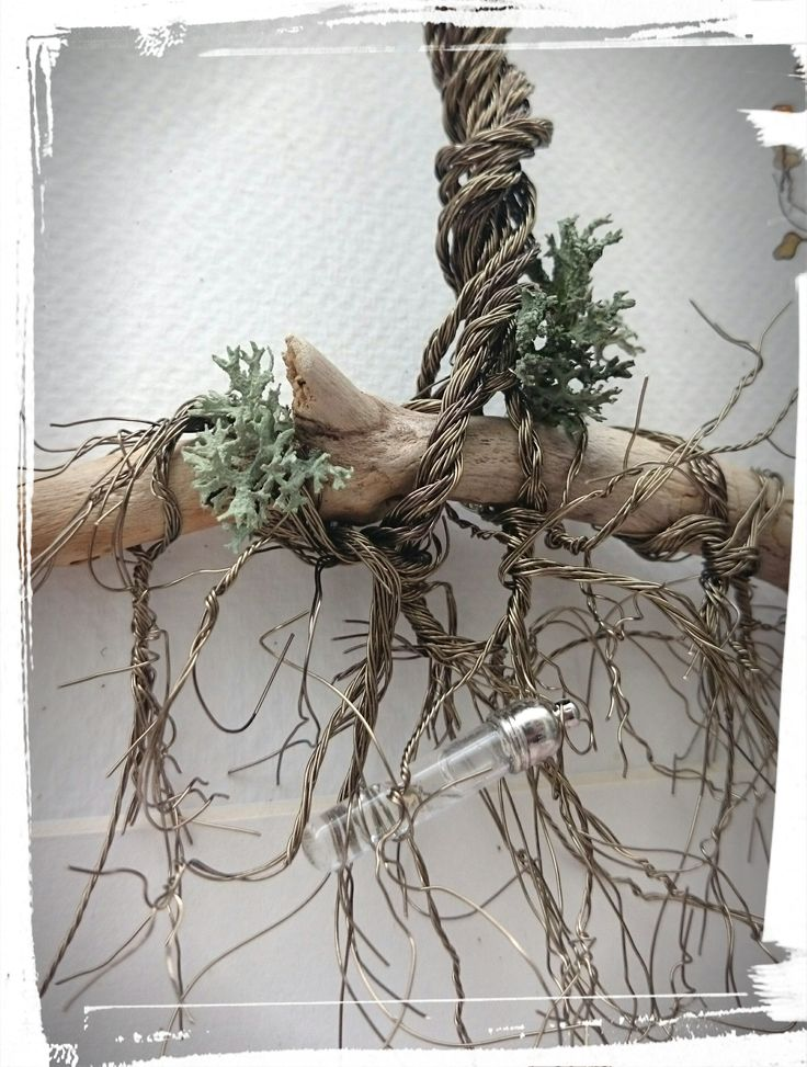 Wire Art: Copper Wire Tree Roots