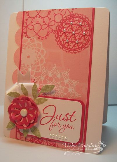SC340.....Just For You by justcrazy - Cards and Paper Crafts at Splitcoaststampers
