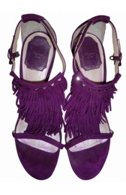 Ballerines REPETTO nubuck violet 38 2CdTyC