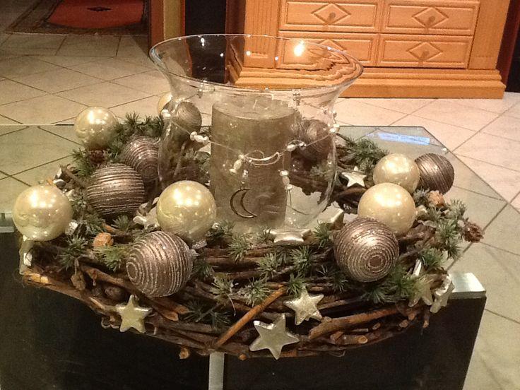 weidenkranz mit dekoglas winter christmas advent pinterest. Black Bedroom Furniture Sets. Home Design Ideas