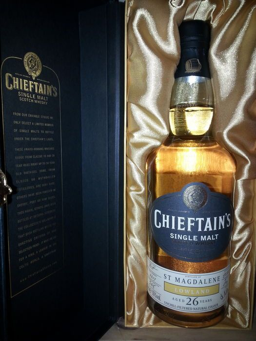 St Magdalene 26 years Chieftain's cask 2219 of 348 bottles