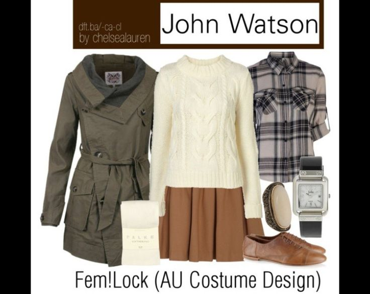 John Watson outfit. MUST HAVE.