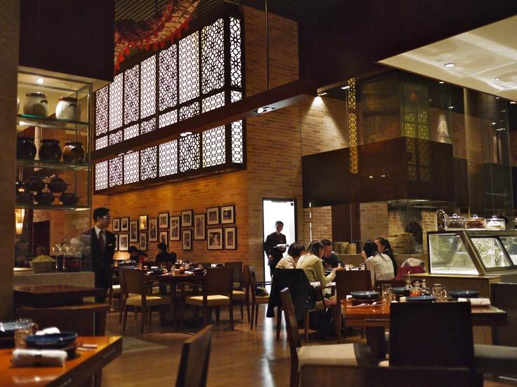 Beijing Kitchen at The Grand Hyatt Hotel, Macau. Nice interiors!