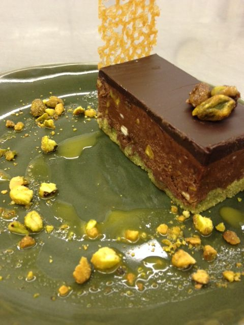 Chocolate Pistachio Pate at #Pier73 | Pacific  Gateway Hotel YVR