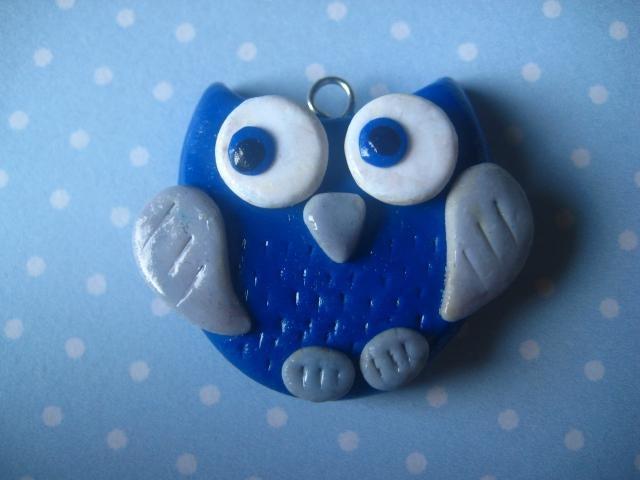 DIY: Polymer clay owl