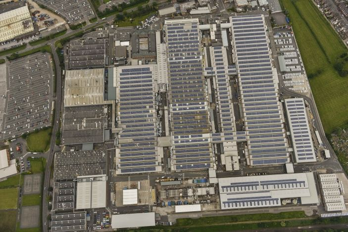Bentley plans to install UK's largest solar carport at Cheshire manufacturing site | Clean Energy News