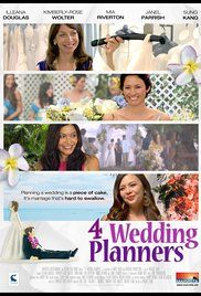 Four Wedding Planners Movie Online. After Lily rejects her boyfriend's marriage proposal, she returns home to Hawaii where she must help out with her mother's weddingplanning business.
