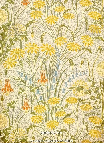 Meadow Flowers, by Walter Crane. England, 1896