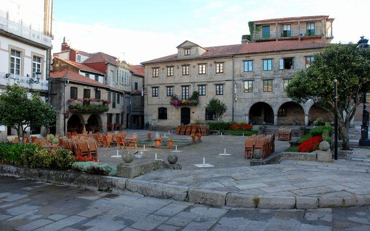 Plaza de la Herrería, Pontevedra, Camino Portugués
