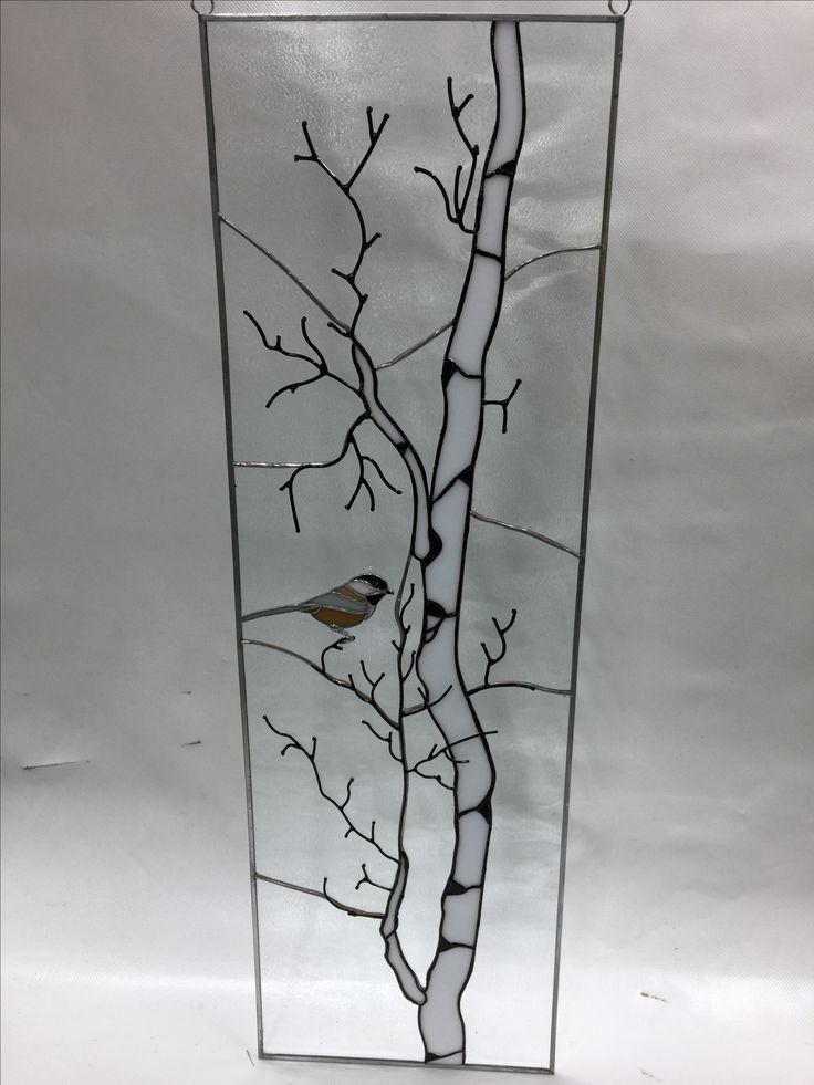 Birch tree winter