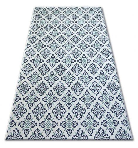 Dywan Sizal Color 19246969 Komfort Kremowy Niebieski