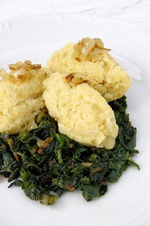 Jahelno-bramborové šťouchance
