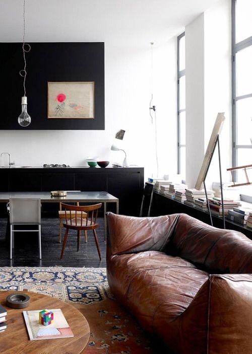 Espace ouvert salon - salle à manger - cuisine | The Saltz