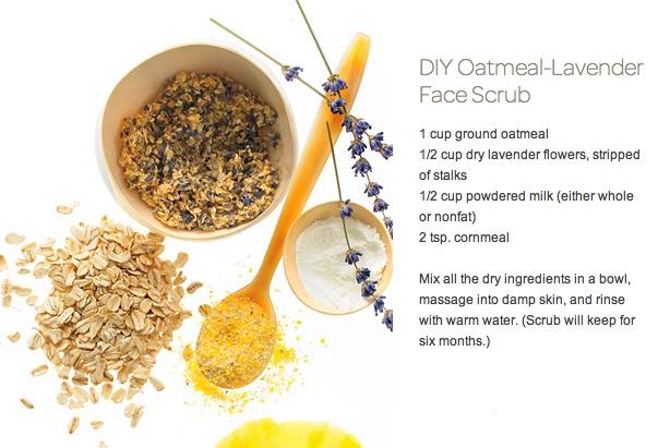 Hasil gambar untuk Oatmeal scrub