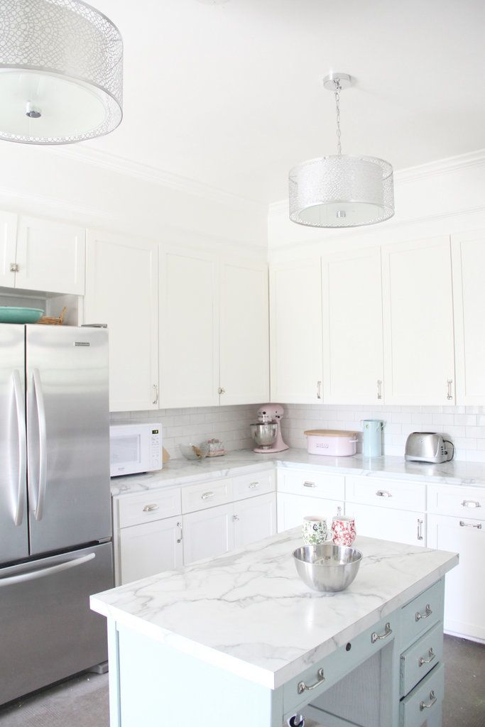 17 Best Ideas About Faux Marble Countertop On Pinterest