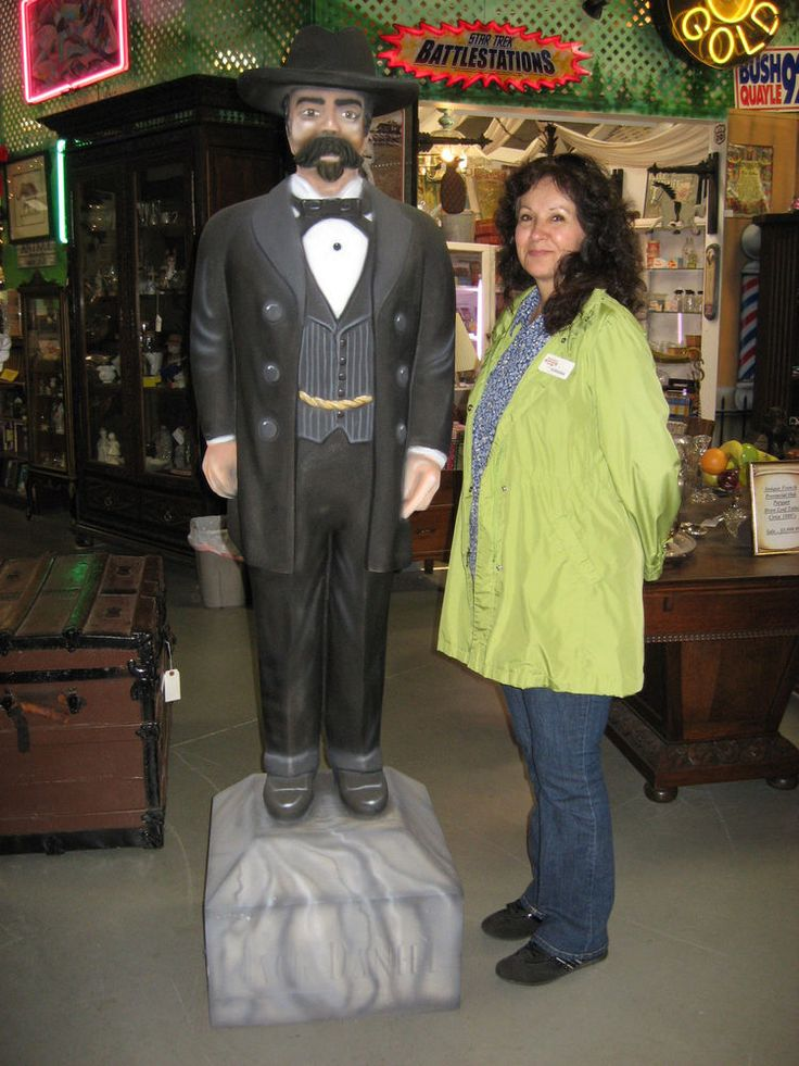 Very Rare Life Size Statue Of Ole Jack Daniels Himself ...