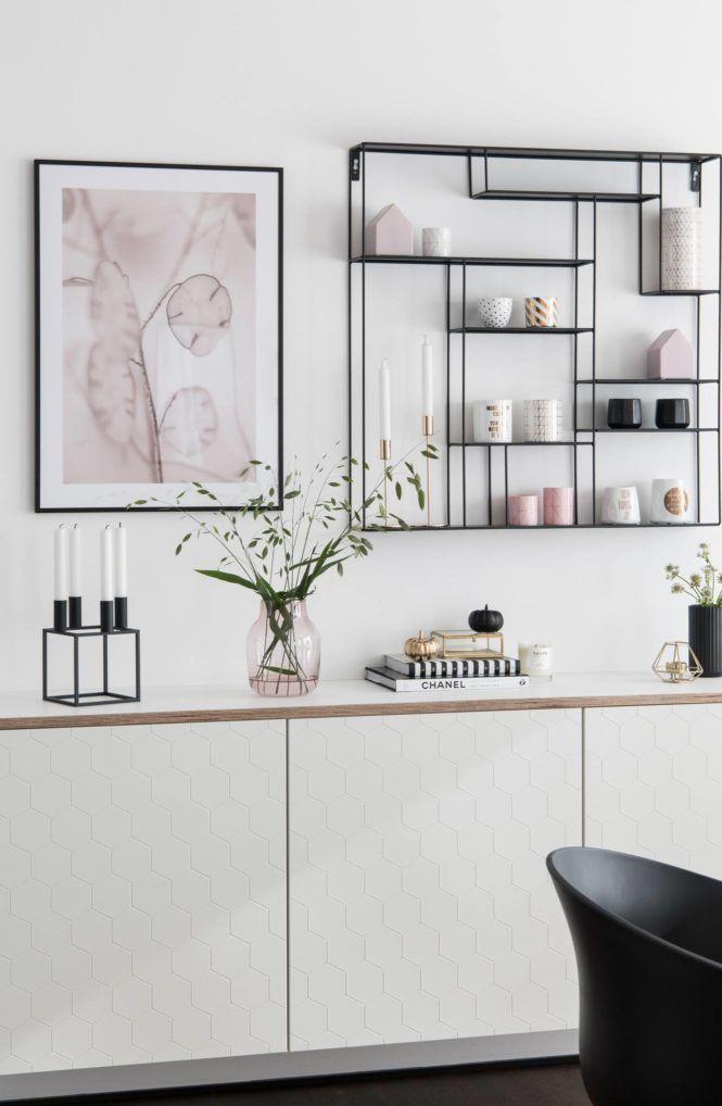 Diy Ikea Besta Mit Multiplex Platte Soul Follows Design Ikea Esszimmer Esszimmer Dekor Ideen Sideboard Flur