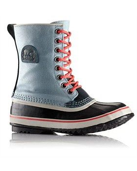 Sorel's 1964 Premium CVS Boot is seam-sealed and waterproof with a warm felted wool liner. Features: Seam-sealed waterproof construction. UPPER: Waxed canvas. INSULATION: Removable 9mm felted Inner Boot. Buy Now http://www.outsidesports.co.nz/outdoor-sports-gifts-for-her/SKYNL1717/Sorel-1964-Premium-CVS---Women's.html#.Vybk23pnHpI