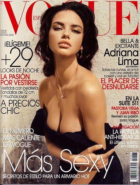 adriana lima magazine - Google Search