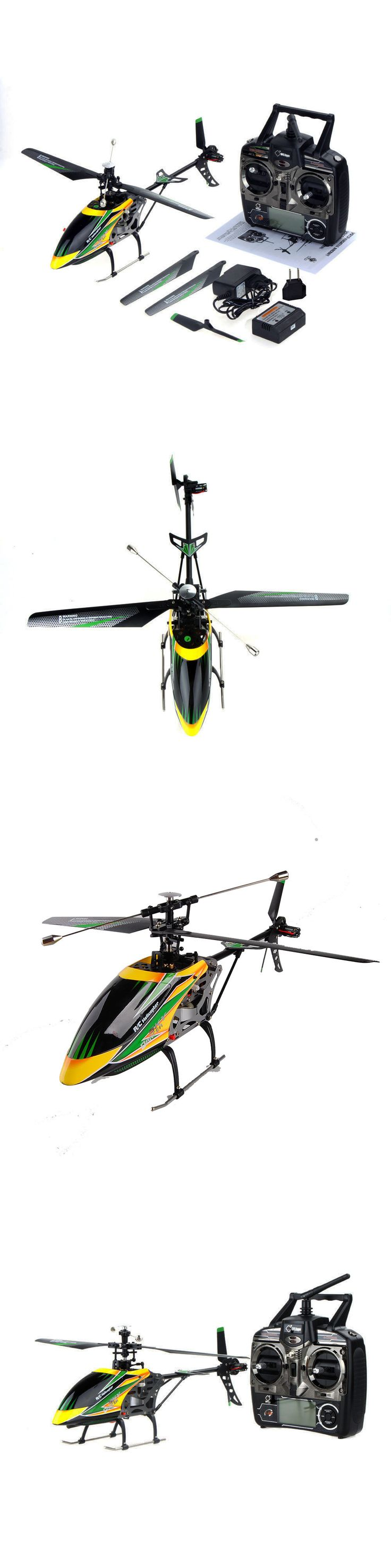 Other RC Model Vehicles and Kits 182186: Wltoys V912 4Ch 2.4Ghz Single Blade Alloy Remote Control Rc Helicopter Gyro Rtf -> BUY IT NOW ONLY: $53.2 on eBay!