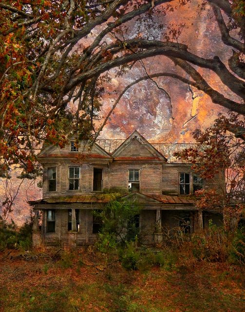 An Abandoned Victorian Farm House, Whitakers Vicinity, Nash County, North Carolina: