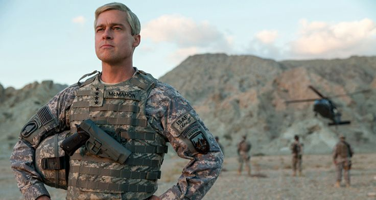 "Watch The First #Trailer Of Brad Pitt's New #War Satire ""#War Machine"""