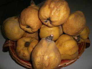 LE  RICETTE DI CHARA: Confettura di pere cotogne al  tè di mela verde e ...