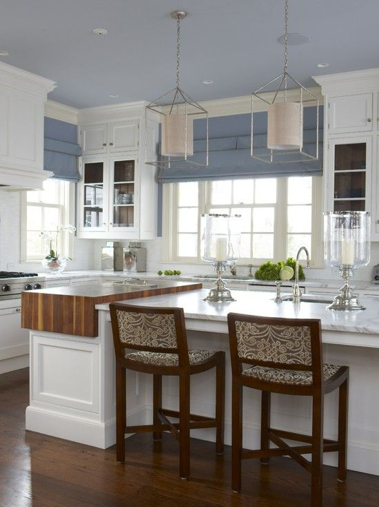 A Classic CT Home With A Modern Flair   Traditional   Kitchen   New York    Cindy Rinfret   Ceiling Color Part 83