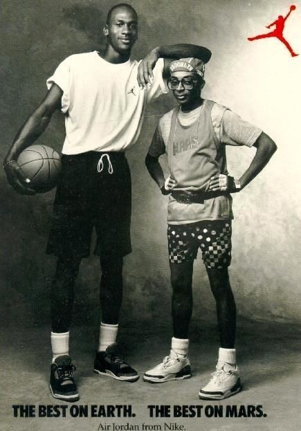 "Spike Lee's ""Mars Blackmon"" Nike advertising campaign."