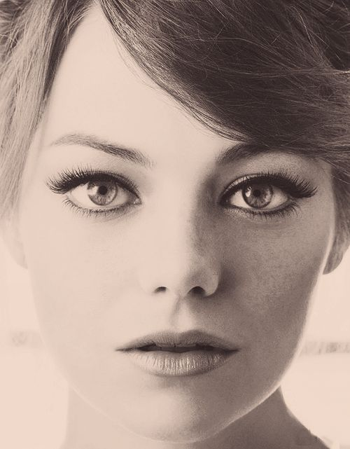 Emma Stone: Girls Crushes, Make Up, Faces, Makeup, So Pretty, Beautiful People, Hair, Emma Love, Emma Stones