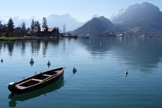 Lac d'Annecy, Haute Savoie, France