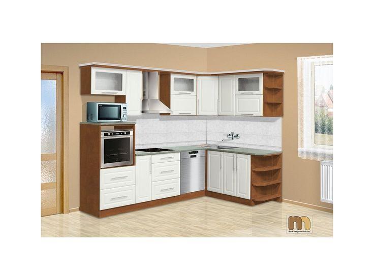 Potřebujete levnou kuchyňskou linku a přitom by měla být také praktická? Tato kuchyň je pro Vás ideální. Kuchyňské skříňky jsou složené a doprava je zdarma po celé ČR.