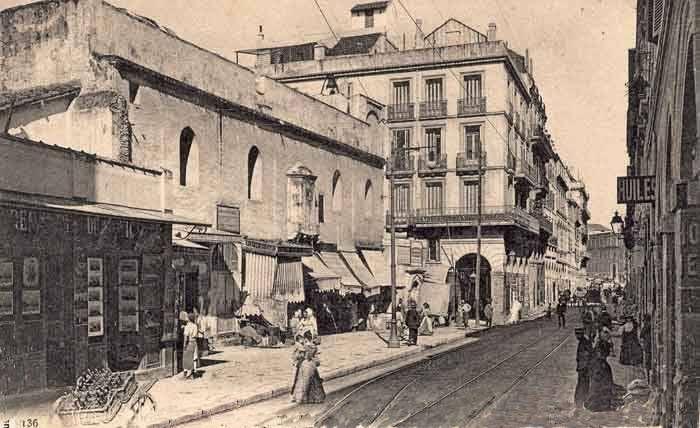 alger rue Bab-el-oued