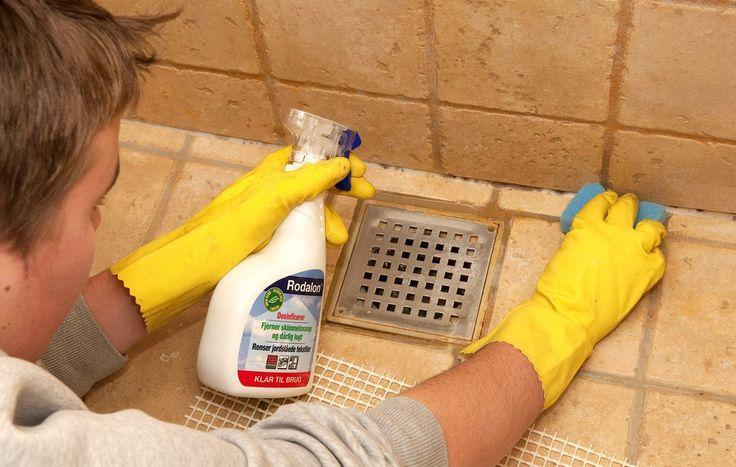 Hvordan undgår jeg sorte pletter på de bløde fuger i badeværelset?