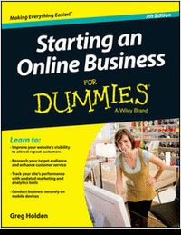 Gift For You: Starting an Online Business for Dummies (100% disc...