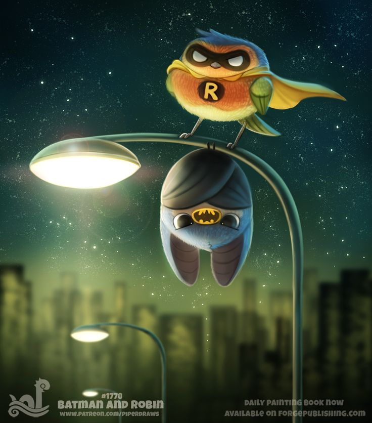Daily Paint 1778# Batman and Robin Daily Paintings Book now available: http://ForgePublishing.com/shop For full res WIPs, art, videos and more: https://www.patreon.com/piperdraws Twitter • Facebook •...