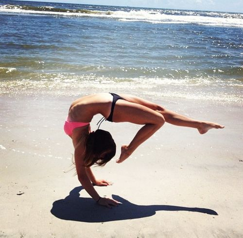 yoga pose that i want to be able to do!