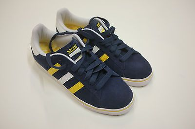 Adidas #campus vulc #skateboarding uni blue #white uk 7 8 10 11 #skate,  View more on the LINK: 	http://www.zeppy.io/product/gb/2/201222129093/
