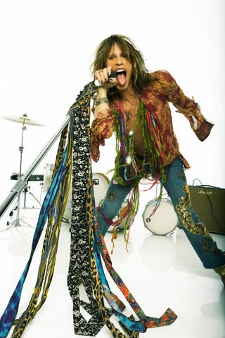 "I love Stephen Tyler. My kids thought he was my boyfriend when they were little because whenever I would see him on TV or the ""Got Milk"" billboards, I would say, ""There's my boyfriend!"""